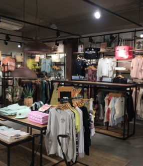 Agencement magasin Billabong bordeaux