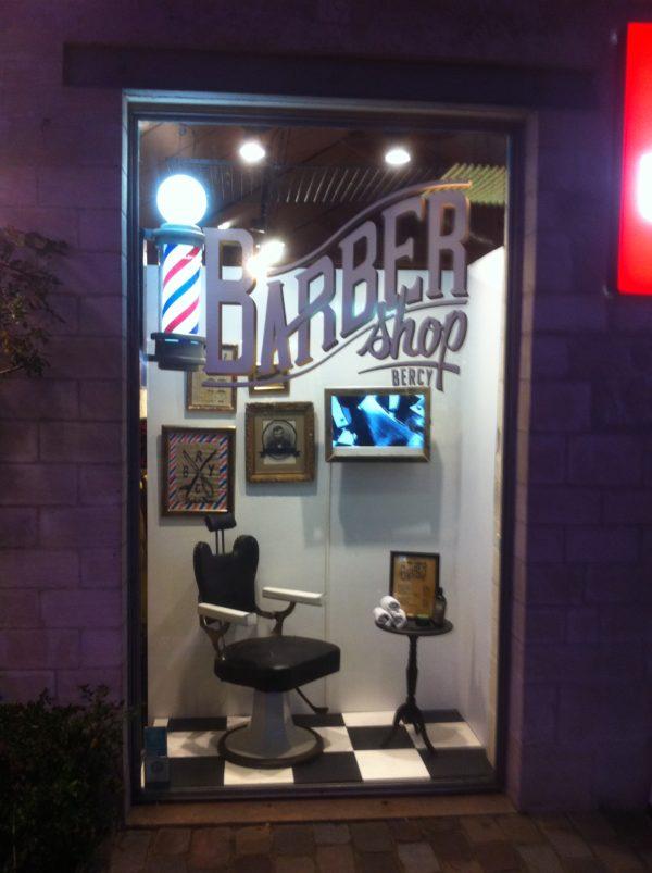 vitrine barber shop quik