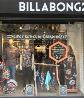 vitrine billabong