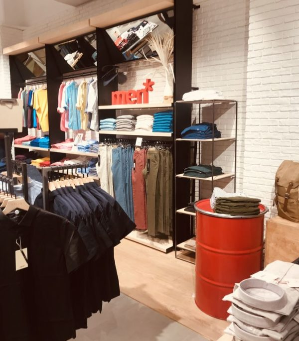 agencement magasin celio